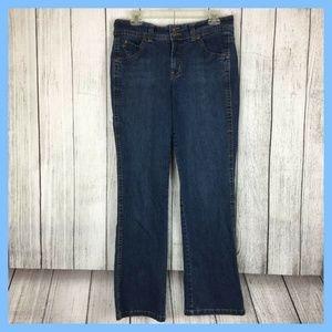 Gloria Vanderbilt Women Average Denim Blue Jeans S